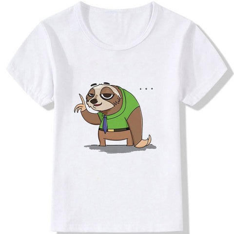 Lazy Old Sloth T-shirt
