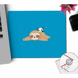 BFF of Sloth Mouse Pad - Sloth Gift shop