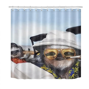 Summer Sloth Shower Curtain