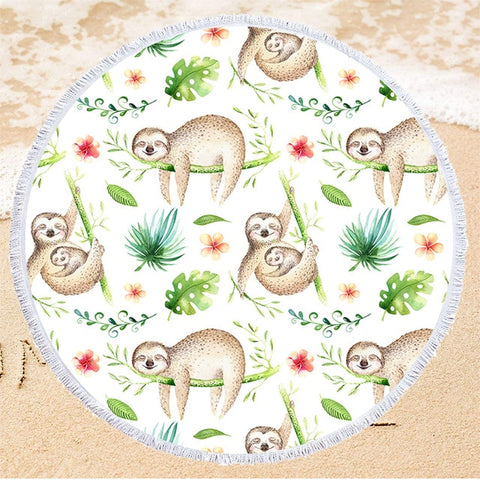 Family Sloth Rug / Towel