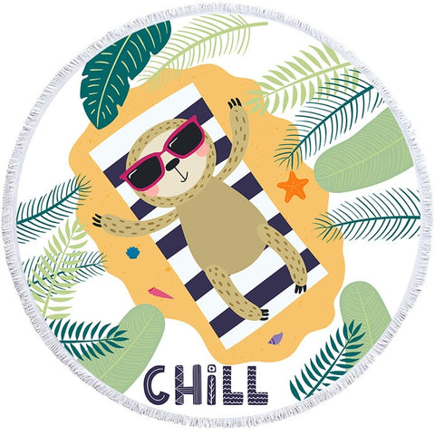 Chill Sloth Rug / Towel