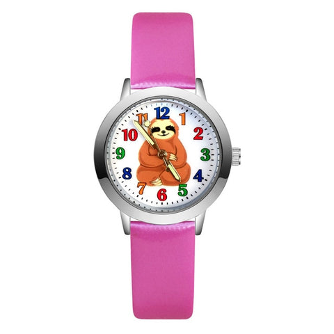 Image of Indian Sloth Sit Watch - Sloth Gift shop
