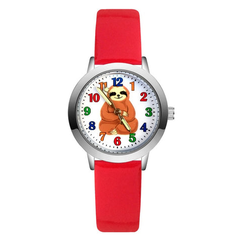 Indian Sloth Sit Watch - Sloth Gift shop