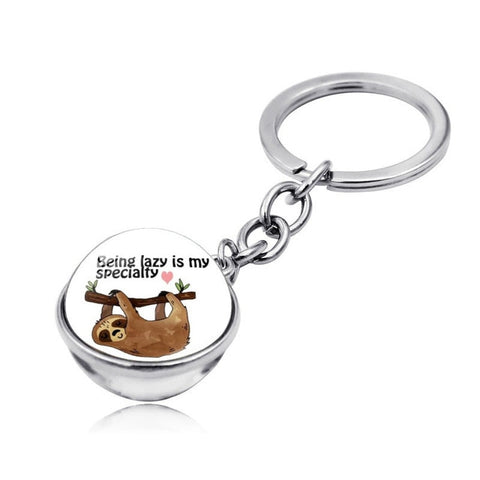 Sloth Specialty Keyring - Sloth Gift shop