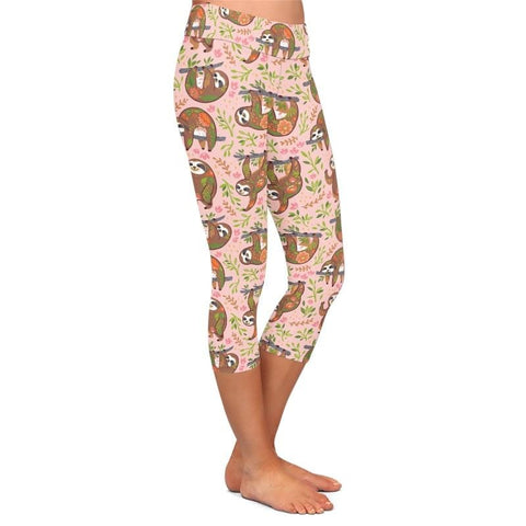 Peace Sloth Leggings - Sloth Gift shop