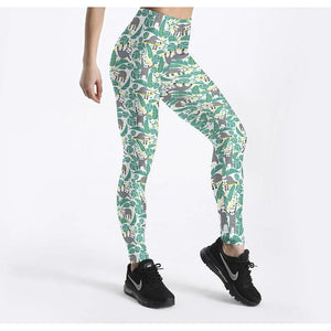 Lots of Sloth Leggings - Sloth Gift shop
