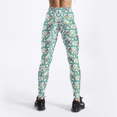 Image of Lots of Sloth Leggings - Sloth Gift shop