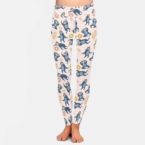Image of Raise Sloth Hands Leggings - Sloth Gift shop