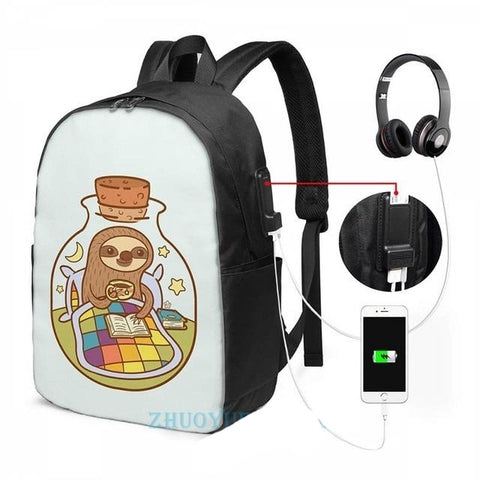 Sloth in a Bottle Travelpack