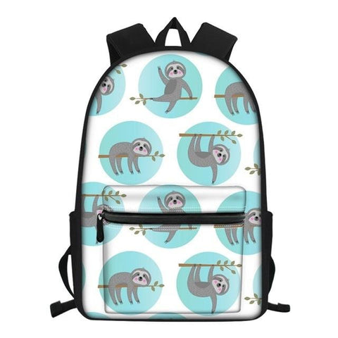 Keep Sloth Hanging Travel Backpack