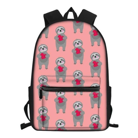 My Sloth Heart Travel Backpack