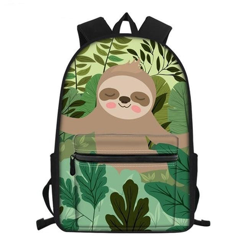 Sloth Chill Face Travel Backpack