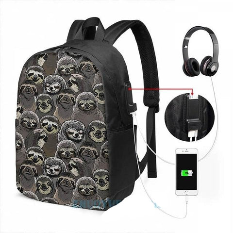 Old Sloth Travel Backpack