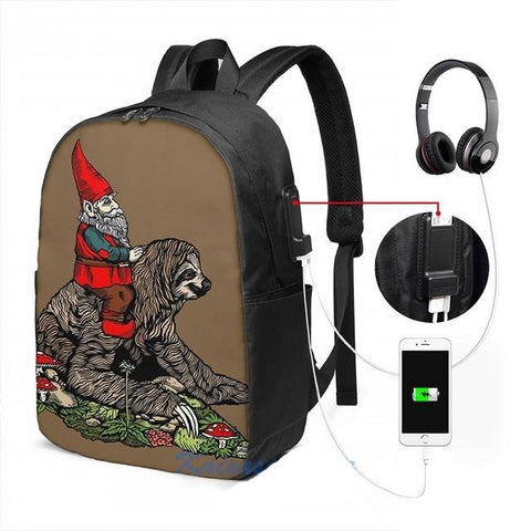 Elf Sloth Travel Backpack