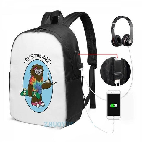 Pass the Sloth Travel Backpack