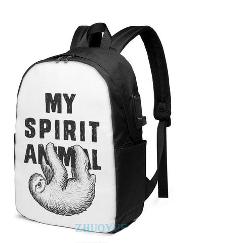 My Sloth Animal Travel Backpack - Sloth Gift shop