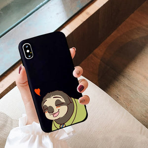 Heart Sloth iPhone Case - Sloth Gift shop