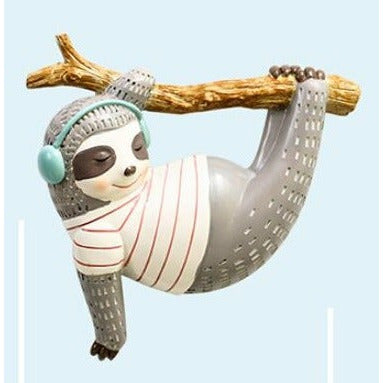 Mr. Grey Sloth Decoration