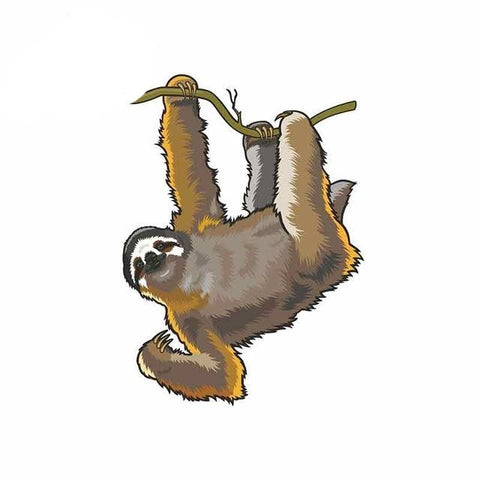 Hi Sloth Sticker - Sloth Gift shop