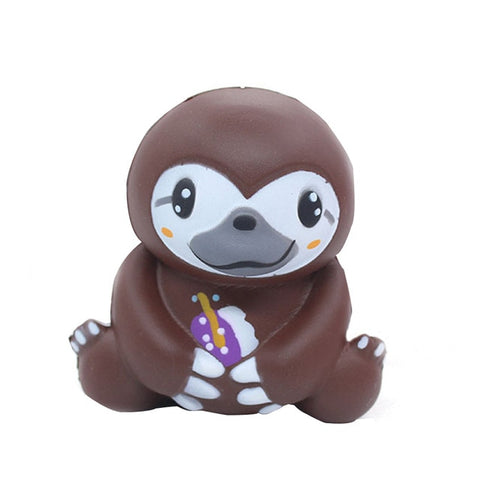 Cute Sloth Face Toy - Sloth Gift shop