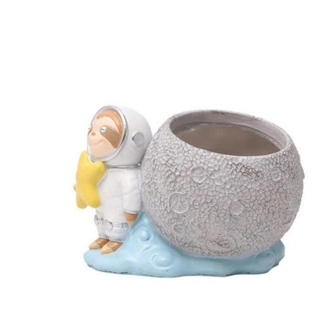Image of Lean Sloth Flower Pot - Sloth Gift shop