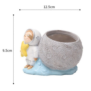 Lean Sloth Flower Pot - Sloth Gift shop