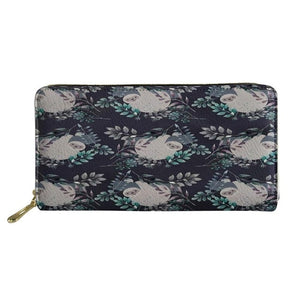 Greyish Sloth Purse / Wallet - Sloth Gift shop