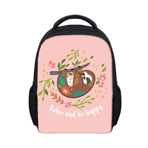Happy and Relax Sloth Travel Backpack