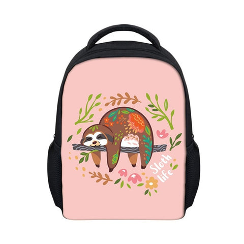 Body Painting Sloth Travel Backpack