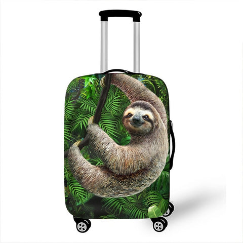 Wilde Sloth Luggage Cover
