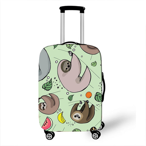 Fruity Sloth Luggage Cover