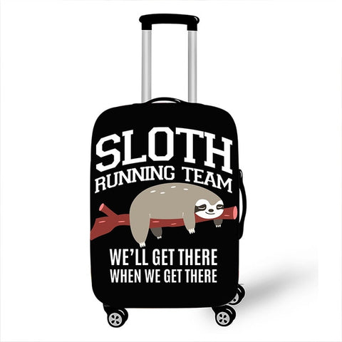 Team Sloth Luggage Cover