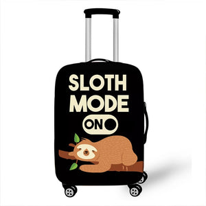 Mode On Luggage and Suitcase Cover - Sloth Gift shop