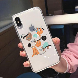 Different Sloth iPhone Case