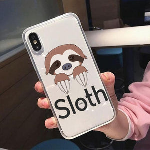 Yes to Sloth Nails iPhone Case