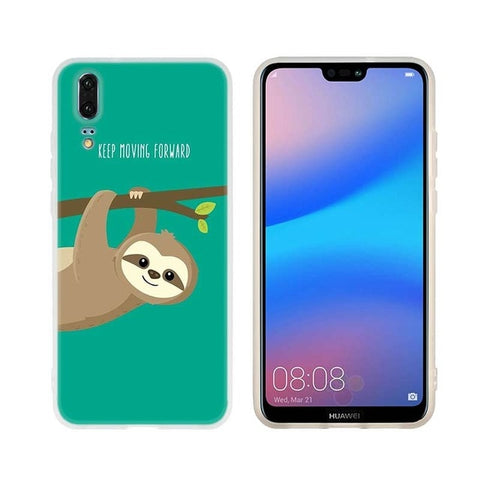 Move Forward Sloth Huawei Case - Sloth Gift shop