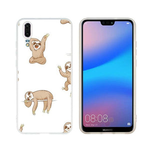 Jolly Sloth Huawei Case - Sloth Gift shop