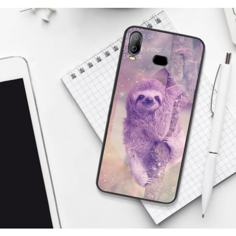 Purple Sloth Samsung Galaxy Case