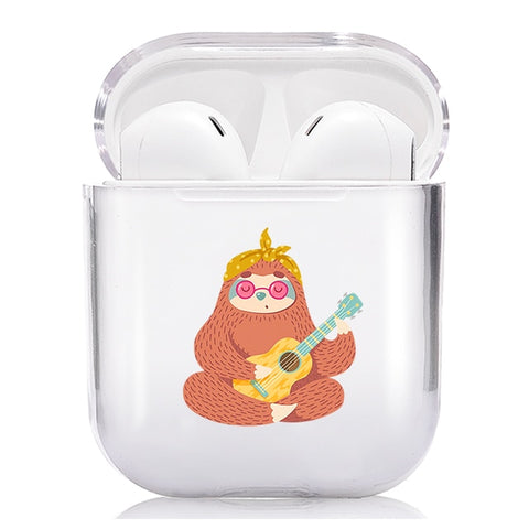 Hippie Sloth Airpods Case - Sloth Gift shop