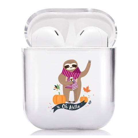 Oh Hello Sloth Airpods Case - Sloth Gift shop