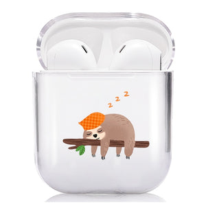 Lazy Sloth Airpods Case - Sloth Gift shop