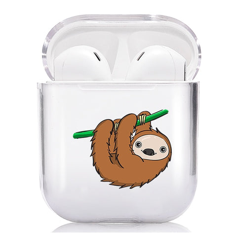 Image of Cute Sloth AIrpods Case - Sloth Gift shop