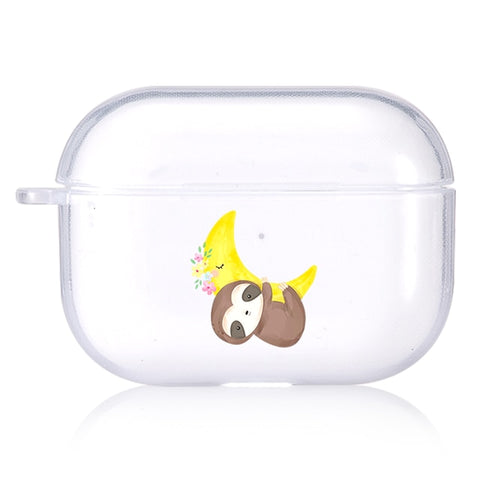 Hugging the Moon Airpods Case - Sloth Gift shop