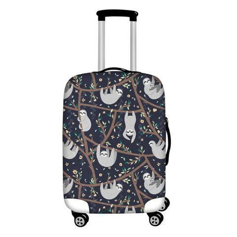 Playful Sloth Luggage Cover