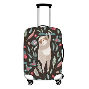 Stand Up Sloth Luggage and Suitcase Cover - Sloth Gift shop