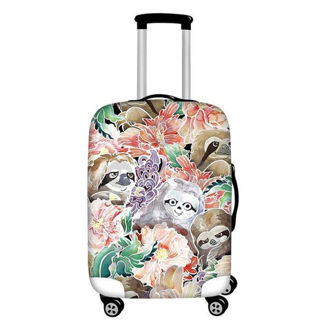 Pastel Lover Luggage Cover