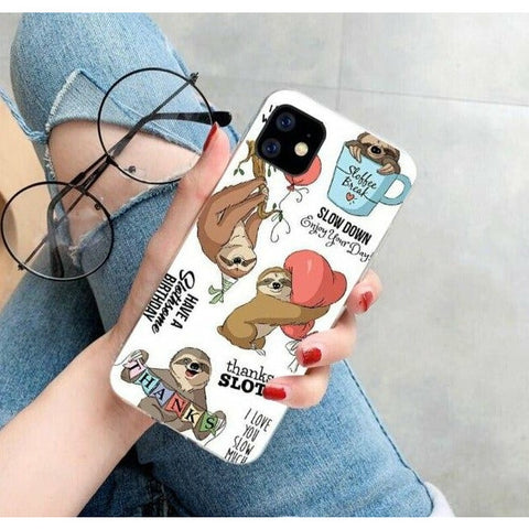 Image of Graffiti Sloth iPhone Case - Sloth Gift shop