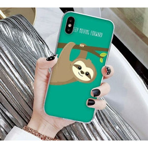 Positive Vibe iPhone Case - Sloth Gift shop