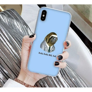 Dolla Dolla iPhone Case - Sloth Gift shop