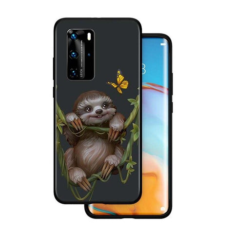 Butterfly Huawei Case - Sloth Gift shop